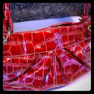 Handbags - Red tote bag